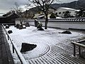 Zen Garden of Komyoji Temple in Dazaifu, Fukuoka in a snowy day 2.JPG