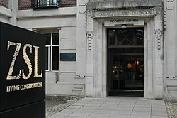 Zoological Society of London entrance