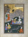 """Alexander at a Banquet"", Folio from a Khamsa (Quintet) of Nizami MET DT4789.jpg"