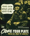 """CLEAN YOUR PLATE...THERE'S NO FOOD TO WASTE"" - NARA - 516248.tif"