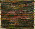 """Fraise"", painted in 1969, 108 inches by 117 inches, acrylic on canvas jpg.jpg"