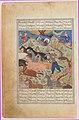 """Rustam Lassos Rakhsh"", Folio from a Shahnama (Book of Kings) MET DP215848.jpg"