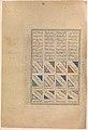 """Siyavush and Jarira Wedded"", Folio 183v from the Shahnama (Book of Kings) of Abu'l Qasim Firdausi, commissioned by Shah Tahmasp MET DP260212.jpg"