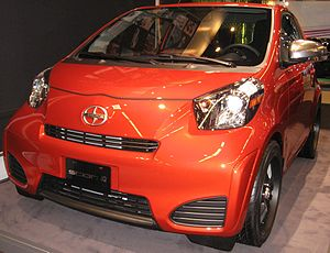 2012 Scion iQ photographed in Montreal, Quebec...