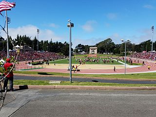Kezar Stadium outdoor athletic stadium in San Francisco