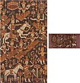 'Pidan' (sacred banner) from Cambodia, Khmer, c. 1900, silk twill weave with weft ikat.jpg
