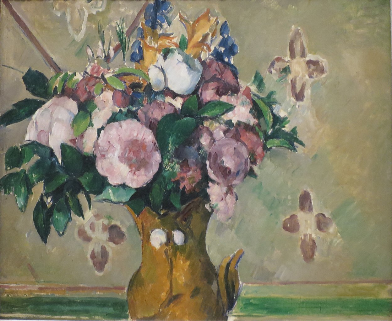 File Vase Of Flowers By Paul C 233 Zanne Norton Simon Museum Jpg Wikimedia Commons