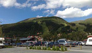Åreskutan - Åreskutan in the summer