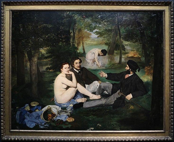 File:Édouard manet, colazione sull'erba, 1863, 01.JPG