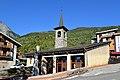Église Sainte-Foy de Sainte-Foy-Tarentaise. Vue ouest.jpg