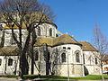 Étampes (91), collégiale Saint-Martin, chœur, vue depuis le sud 1.jpg