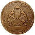 Île d'Or. Médaille bronze. Revers.jpg
