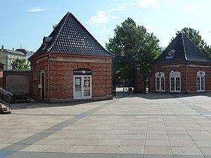 Østerfælled Barracks - Image: Østerfælled Barracks guard houses