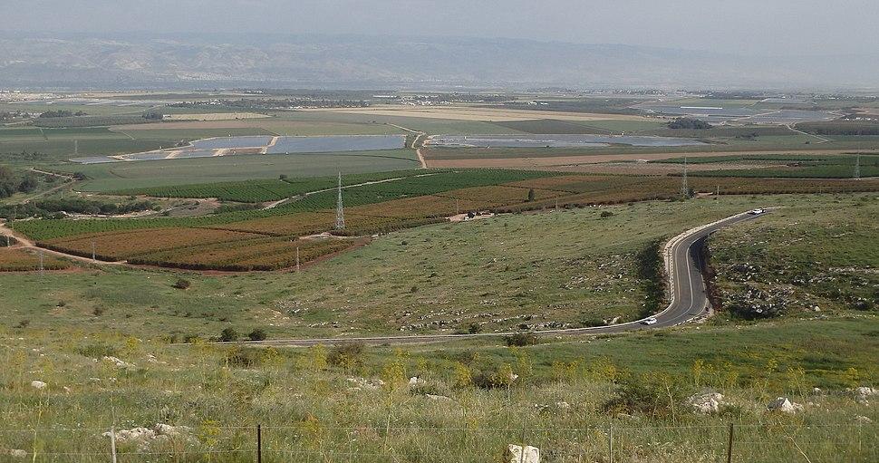 Вид на Изреельскую долину с хребта Гильбоа - panoramio