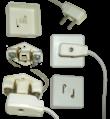 Вилка ВПВ-1 с розеткой РПВ-1 для абонентской радиоточки.png