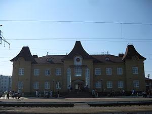 Chernushka, Chernushinsky District, Perm Krai - Chernushka railway station