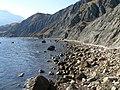 Восточная часть побережья бухты Лисья.jpg