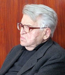 Добрица Ћосић (Dobrica Chosich), firct President of Federal Republic of Yugoslavia.jpg