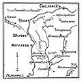 Карта-схема к статье «Лесная» № 1. Военная энциклопедия Сытина (Санкт-Петербург, 1911-1915).jpg