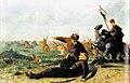 К. Устиянович. Козацька битва (Смерть Тимоша Хмельницького). 1890.jpg