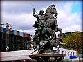Памятник Георгию Победоносцу у Ленинградского вокзала.JPG