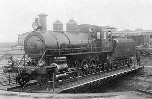 Russian locomotive class Kh - An Х Steam Locomotive in Vladikavkaz Railway