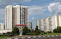 Район Москворечье-Сабурово от пересечения Пролетарского проспекта и Кантемировской улицы.JPG