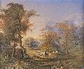 Редковский Андрей Алексеевич - Пейзаж с пастухами ( 1857).jpg
