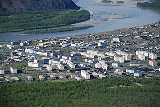 Ust-Nera Urban-type settlement in Sakha Republic, Russia