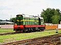 ЧМЭ3-1284, Беларусь, Минская область, депо Слуцк (Trainpix 80187).jpg