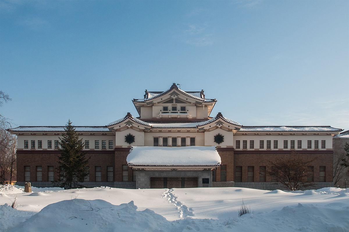 Здание музея в Южно-Сахалинске, автор - Алексей Задонский