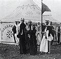 המלך עבדאללה בביקור ברבת-עמון-JNF022254.jpeg