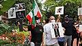 تجمع اعتراض به اعدام نوید افکاری مقابل دفتر حفاظت از منافع جمهوری اسلامی در واشنگتن 02.jpg