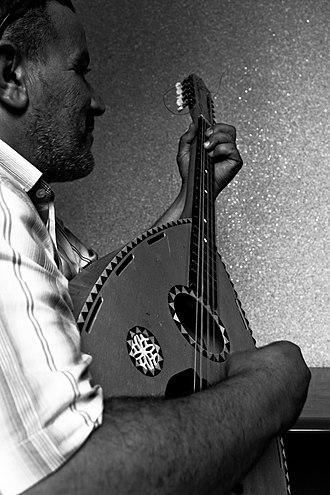 Algerian mandole - Image: دندنة