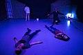 نمایش هملت در قم به کارگردانی علی علوی و گروه تئاتر گاراژ به روی صحنه رفت hamlet Garage Theater qom 20.jpg