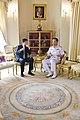 ขณะรอ พลเรือเอก Robert F. Willard ผู้บัญชาการกองกำลังส - Flickr - Abhisit Vejjajiva.jpg