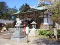 加佐登神社 - 拝殿1.JPG