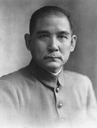Sun Yat-sen - Sun Yat-Sen in the 1910s