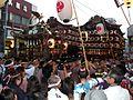 小田原山車と本社神輿.JPG