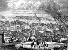 19th century picture of Sheffield