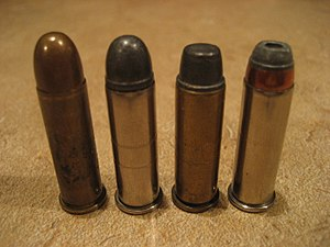 .38 Special -  .38 Specials come with a range of different bullet types.