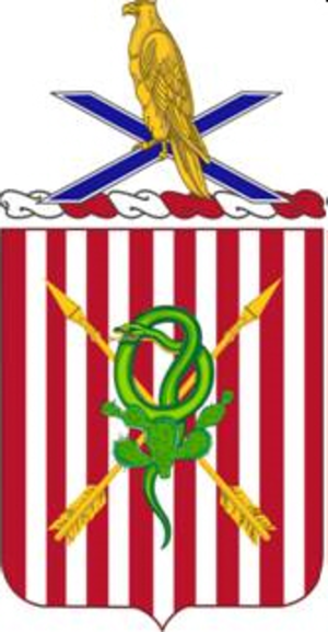 2nd Air Defense Artillery Regiment - Image: 002 ADA COA