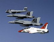 00VX-23 US Navy aircraft in flight
