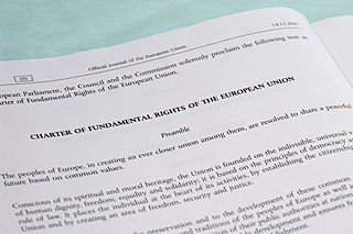 Charter of Fundamental Rights of the European Union European charta proclaimed in 2000