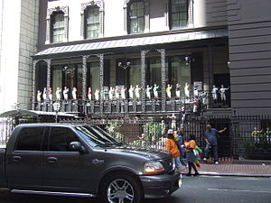 "52nd Street (Manhattan) - The ""21 Club"""