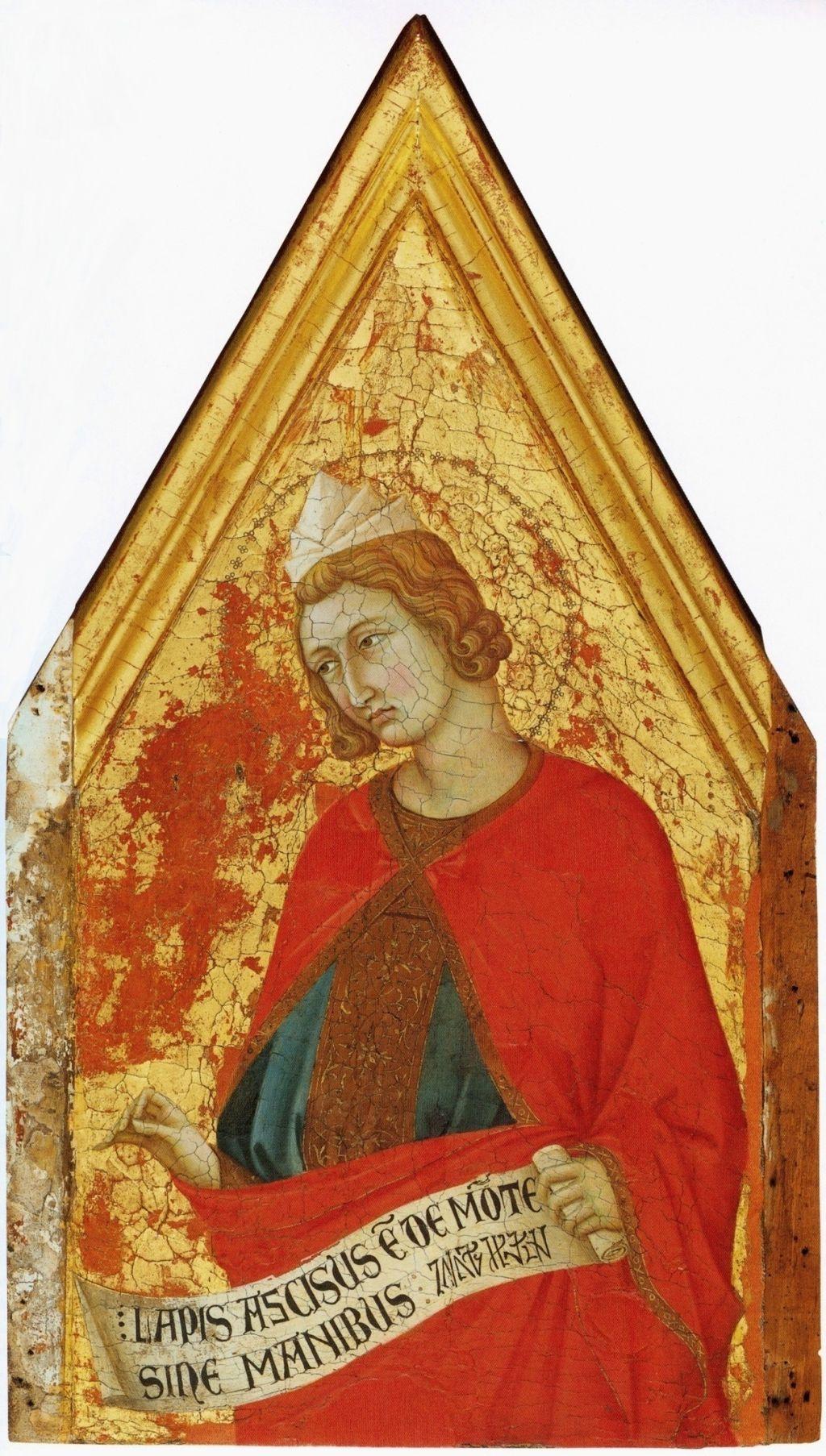 Ugolino di Nerio,  Daniil, 1324, Philadelphia Museum of Art