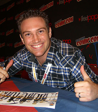 Bryce Papenbrook - Bryce Papenbrook at the October 12, 2012 New York Comic Con