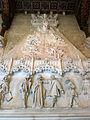 102 Castell de Santa Florentina (Canet de Mar), saló del tron, llar de foc.JPG