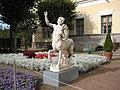 103. Pavlovsk Park. Private Garden. Statue of Centaur..JPG