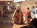10 Janvier à Ouidah; Egoun goun en déambulation 02.jpg